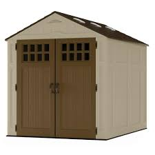 Rubbermaid Roughneck Gable Storage Shed by Tips U0026 Ideas Lowes Storage Buildings For Inspiring Garage Design