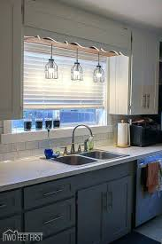 what size pendant light kitchen sink height lighting ideas