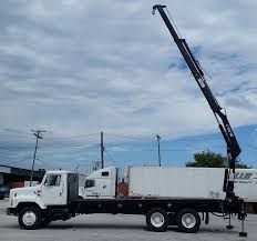 2001 International 2654 HIAB 140 Knuckle Boom Truck - M46673 ... Bucket Trucks 2005 Gmc C7500 60 Foot Forestry Bucket Truck Under Cdl Tristate Dat370 And Forestry Equipment At Kw Truck Llc Amazoncom Newray 1 43 Utility Intertional Maintenance 2006 Gmc 7500 Forestry Bucket Truck City Tx North Texas Versalift Vo255rev03 On 2018 Freightliner M2106 4x2 Rent Tree Chipper Trucks Oukasinfo For Sale Youtube New Age Sale 2007 Under Cdl 61 Altec 4300 581