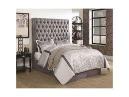 Huey Vineyard Queen Sleigh Bed by Coaster Upholstered Beds Upholstered Queen Bed With Diamond