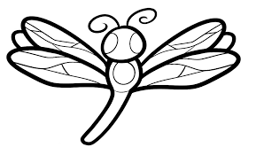 28 Collection Of Dragonfly Drawing For Kids
