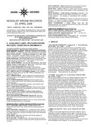 newslist drone records 23 april 2006