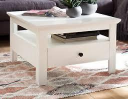 details zu couchtisch weiß landhaus beistelltisch schubkasten wohnzimmer sofa tisch baxter