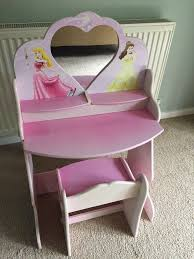 Dressing Table & Stool - Disney Princess   In Timperley ... Marshmallow Fniture Childrens Foam High Back Chair Disneys Disney Princess Upholstered New Ebay A Simple Kitchen Chair Goes By Kaye Parisi The Bidding Amazoncom Delta Children Frozen Baby Toddler Sofa Bed Mygreenatl Bunk Beds Desk Remarkable Chairs For Kids Hearts And Crowns Ottoman Set Minnie Mouse Toysrus Pixar Cars Childrens Disney Tv Characters Chair Sofa Kids Seats Marvel Saucer Room Decor