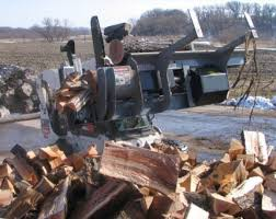 skid steer wood processor attachment industrial series log