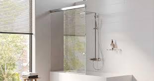 die optimale duschabtrennung für ihre badewanne mager glas