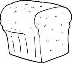bread clipart black and white OurClipart