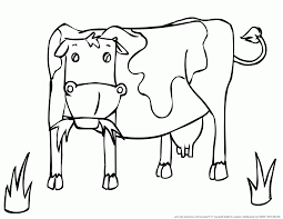 Gallery Of Coloriage Vaches Coloriage Vache Vache 13 Animaux