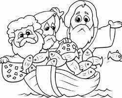 Bible Coloring Sheets On Pages 3