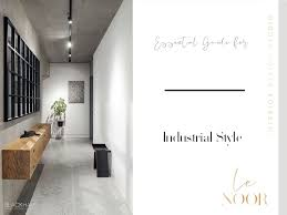 essential guide for industrial style on the from the