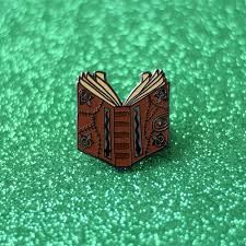 Childrens Halloween Books From The 90s by Hocus Pocus Spell Book Enamel Pin Halloween Lapel Pin