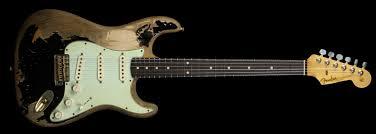 Fender John Mayer Black1 Tribute