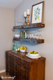 Diy Rustic Wood Floating Shelves Ways To Make A Part Of Your Homes Da