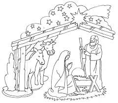 Angel Announces Jesus Birth Coloring Pages