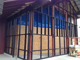 Kawneer Curtain Wall Doors by New Construction Curtain Wall Area Glass Wisconsin