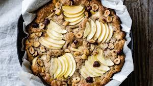 gesunder apfel nuss kuchen