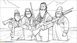 Enjoy This Free And Printable Duck Dynasty Clipart