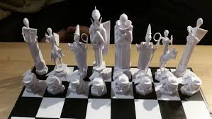 Image Of DIY Board Games You Can Make With A 3D Printer Harry Potter Chess