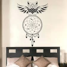 Owl Bedroom Wall Stickers by Decal Art For Walls Buy Dream Catcher Bedroom Owl Wall Decal Art