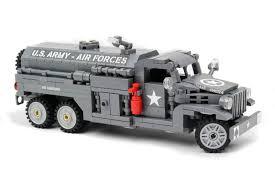 100 Lego Tanker Truck CCKW 2 12 Ton 6x6 Cargo Airfield Fuel Tanker Version