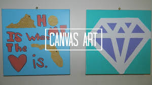 82 10 Easy Diy Canvas Art Ideas For Beginners DIY