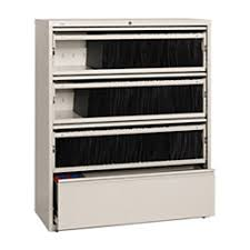 Officemax File Cabinets Lateral by Workpro 4 Drawer Roll Out Shelf Lateral File Cabinet 52 12 H X 42
