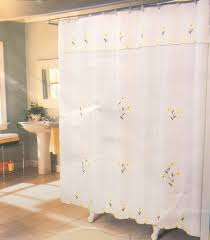 Lace Priscilla Curtains With Attached Valance double swag shower curtain attached valance window treatments