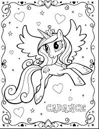 My Little Pony Coloring Pages Princess Cadence And Shining Armor 2512655