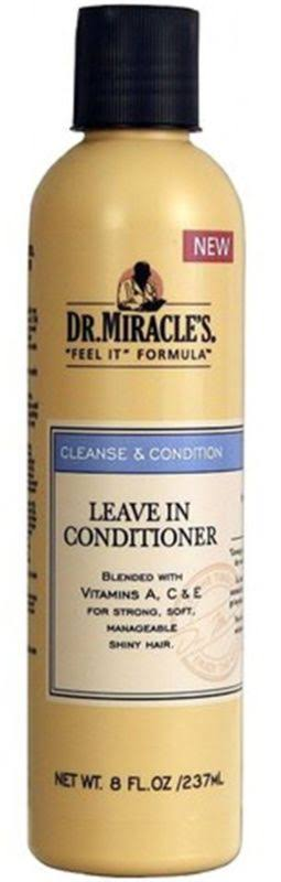 Dr. Miracle's Cleanse and Condition Leave-In Conditioner - 8oz