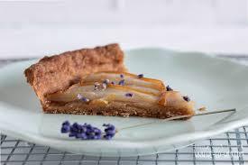 birnenkuchen mit lavendel und honig we go