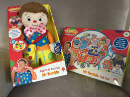 review mr tumble lights and sounds and felt set dear