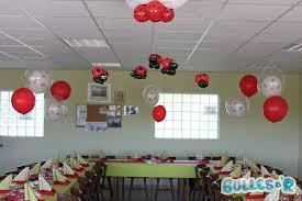 deco coccinelle pour bapteme bullesdr décoration de baptême en ballons roppenheim alsace