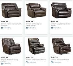 Simmons Harbortown Sofa Big Lots by Big Lots Recliners Big Lots Furniture Furniture Deals