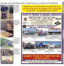 THE LAND ~ August 11, 2017 ~ Southern Edition By The Land - Issuu County Diesel And Driveline Llc N6598 Road D Arkansaw Wi The Land August 24 2018 Southern Edition By The Land Issuu 2019 Ford Ranger Xlt Supercab Walkaround Youtube Curt Manufacturing Triflex Trailer Brake Controller Rv Magazine Curt Catalog With App Guide Pages 1 50 Text Version New Products Sema 2017 1992 Peterbilt 378 For Sale In Owatonna Minnesota Truckpapercom Curts Service Inc Detroit Alist Truck Postingan Facebook Catalog Chappie Driver Herc Rentals Linkedin Tested Proven Safe Mfg
