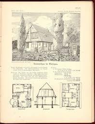100 German Home Plans 1907 Wettbewerb Woche Y Architecture Design Vintage