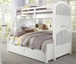 Twin Full over Full Bunk Beds White fort Full over Full Bunk