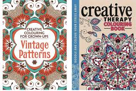 Creative Therapy Colouring In For Grown Ups