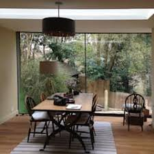 Full Height Glazing Roof Light In New Dining Room Eclectic By ArchitectureLIVE