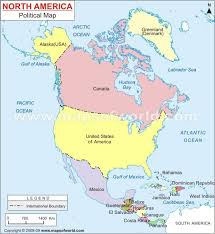 North America Map On Of South Asia Brazil