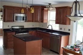 american woodmark winchester auburn glaze modern kitchen
