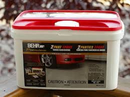 Behr Garage Floor Coating Vs Rustoleum by Product Review Behr Epoxy Garage Floor Coating Autos Ca