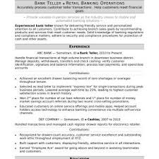 Sample Resume Private Banking Archives