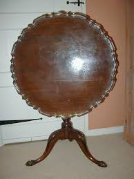 William And Mary Restored Pie Crust Table