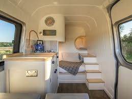 Brilliant Camper Van Conversion Uses Space Saving Boat Design Ideas