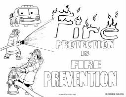 Fire Coloring Page Coloring234