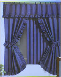 Pink Ruffle Curtain Topper by Amazing Blue Curtain Valance 96 Blue And Yellow Valances Shower