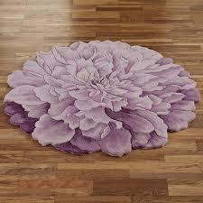 Large Bathroom Rug Ideas by Bathroom Ideas Purple Cotton Flower Patterned Round Bathroom Rugs