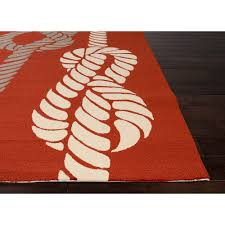 Knots Nautical Outdoor Rugs — Room Area Rugs Affordable and