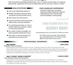 Great Organizational Skills Resume Example Of Good Resumes Bartender Examples Objective For Transferable Students
