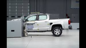 100 Small Pickup Truck IIHS Selected Crash Tests YouTube